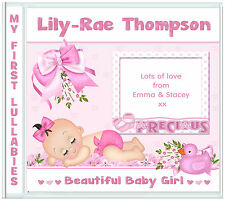 New Baby Girl Personalised Gift ♥ Granddaughter ♥ Niece ♥ Daughter ♥ Goddaughter