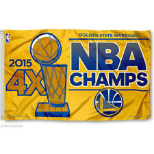 Golden State Warriors 2015 NBA Champions Flag and Banner