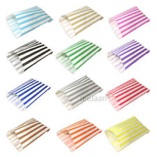 CANDY STRIPE PAPER SWEET GIFT PARTY BAGS 7 X9INCHES PICK N AND MIX All COLORS