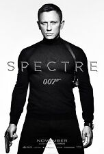 Spectre 007 Hi-Res Movie Poster White Background