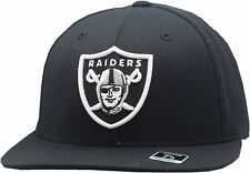 Oakland Raiders Reebok Black Fitted Hat-OR1330
