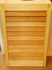 D.I.Y Unfinished Plantation Shutters- Solid Wood - Paint Grade