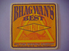 Beer Bar Pub Coaster ~*~ BIG TIME Brewing Bhagwan's Best India Pale Ale; SEATTLE