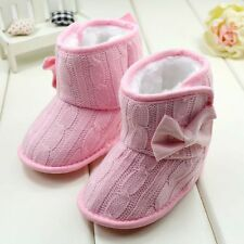 Fashion Soft Sole Baby Boys Toddler Cotton Boots Infant Crib Shoes 0-18 Months