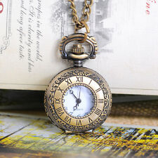 Wholesale HOT! Bronze Tone HOTSELL Necklace Chain Quartz Pocket Watch 86cm