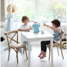 New Kids Childrens Solid Timber Wood Hampton Table & 2 Chairs Set