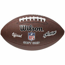 Wilson NFL Extreme Official American Football Synthetic Leather Ball