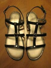 Women's Bandolino NEW Black Strappy Sandals Sizes 6 1/2M, 7M, 8M