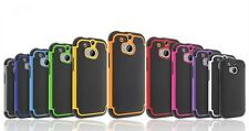 RUGGED ARMOR SHOCKPROF HYBRID CASE COVER FOR HTC ONE M8  (2014) - BRAND NEW