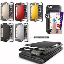 Luxury Hard PC Ultra-thin Case Cover&Card Storage For Apple iPhone6/6Plus 5/5S