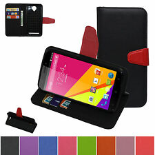 Folio PU Leather Stand View Wallet Cash Slots Case For BLU Life Play 2 L170A