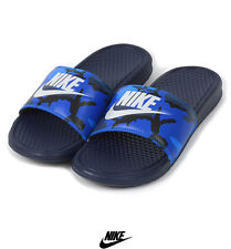 Mens Nike Flip Flops Benassi slides Sandals 631261 400 size 6 - 11 pool shoes