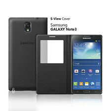 OEM Samsung S View Window Flip Cover Folio Case For Samsung Galaxy Note 3