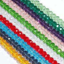 Wholesale New 12 Colors Czech Glass Crystal Loose Beads 4mm,6mm,8mm