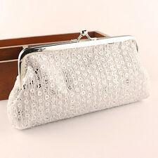 2015 Cute Women Lovely Style Lady Wallet Hasp Sequins Purse Clutch Bag Fashion