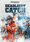 Deadliest Catch: Season 5 (DVD) 5-Disc Set) Discovery Channel! BRAND NEW!