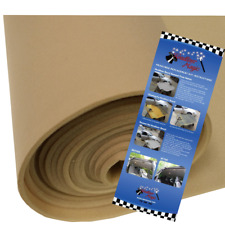 "Plymouth Voyager 120""X60""Headliner Material Fabric Kit Lt Tan W/ 2 Cans Adhesive"