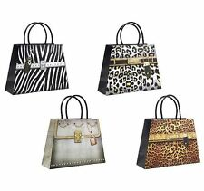 LUXURY HANDBAG SHAPED DECORATED STRONG GIFT BAGS