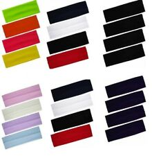 STRETCHY KYLIE BAND HAIRBAND~HEADBAND LADIES-MENS SPORTS ASSORTED COLORS.