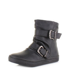 Womens Ladies Blowfish Octave Black Texas Comfort Flat Casual Ankle Boot Uk Size