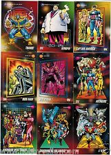 1992 MARVEL UNIVERSE SERIES III 3 IMPEL Single Cards Complete Your Set #121-180
