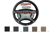 Dodge Leather Steering Wheel Cover - Genuine Cowhide 5 Color Options Wheelskins