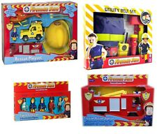 Fireman Sam Toys Playsets Figures Vehicles Fire Engine Helicopter NEW FREE P&P