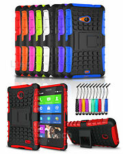 Apple iPhone 6 - Shockproof Heavy Duty Tough Case Cover with Stand & Mini Pen