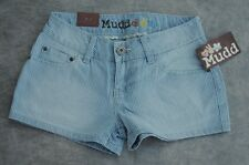 NWT $28 Juniors NWT Mudd Railroad Striped Hot Mini Shorts 6 Sizes 0 1 3 7 9 11