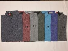 NWT UNDER ARMOUR MENS TWIST LOOSE FIT GOLF POLO SHIRT S/M/L/XL/2XL