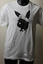 Young Yacht Owners Mens White / Black Playboy Bunny Logo T-Shirt