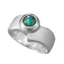 Schmuck-Michel Ring Silver 925 Opal-Triplet 0 1/5in Size 50 65 available 1310