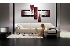Handcraft Abstract Modern Huge Wall Art Oil Painting on Canvas 5PC(no frame)
