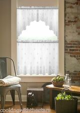 Heritage Lace WELCOME (Pineapple) Curtains, Tiers, Valances, Swags 2 colors NEW