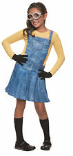 Female Minion Girls CHILD Dress Costume NEW Minions Movie