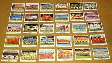 MULTI-LIST SELECTION OF THE SUN (NEWSPAPER) 1970/71 SWAP CARDS #1 - 39