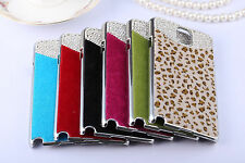 Samsung Galaxy Note3 N9000 & Note 2 N7100 Diamond Fur Crystal Bling Hard Case