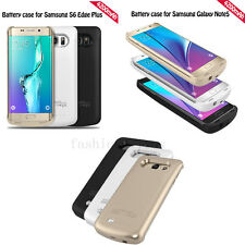 4200mAh Battery Backup Charger Power Case For Samsung Galaxy Note 5 S6 Edge Plus