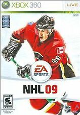 NHL 09 (Microsoft Xbox 360, 2008)  INCLUDES INSTRUCTIONS