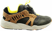 Puma Disc Cage Lux Opt 2 Mens Trainers Leather Suede Slip On 356410 03 P3