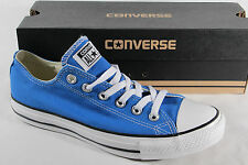 Converse All Star Lace up Sneaker blue, Textile/Canvas, New