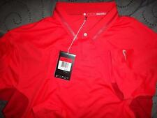 NIKE TIGER WOODS COLLECTION GOLF DRI-FIT POLO SHIRT XL L  MEN NWT $95.00