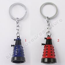 "Cool ! Doctor Who Alien Dalek 10cm/4"" Metal Key Ring Chain New In Box"