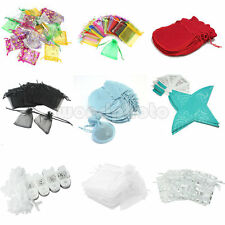 Organza Wedding Xmas Party Favor Gift Candy Bags Jewellery Pouches