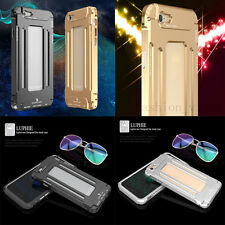 Luphie Armor Luxury Metal Aluminum Bumper Case Cover for Apple iPhone6/6S/6 Plus