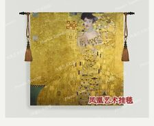 High quality Spun gold Austria Gustav Klimt - Adele wall hanging tapestry New