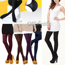 8 Colors Women's Spring Autumn Footed Thick Opaque Stockings Pantyhose Tights ni