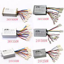 250w 500w Motor Brush Controller for Electric Bicycle & Scooter e-bike Mini ATV