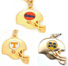 NCAA Football Team 3D Helmet Charm Necklace -Select Your Team - Official Jewelry