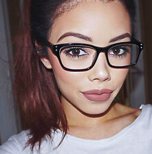 New Vintage Style Square Glossy Frames Nerd Geek Sexy Eye Glasses Frames 1430